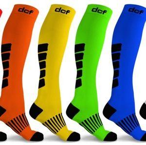 Accessories - DCF Unisex 4 Pair Compression Socks